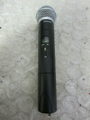 SHURE SM58 MICROPHONE avec Wireless Shure LX2-ND Handheld