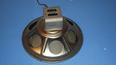 "vintage SANSUI W-200 12"" WOOFER SPEAKER SP-200 tested WORKING EXC"