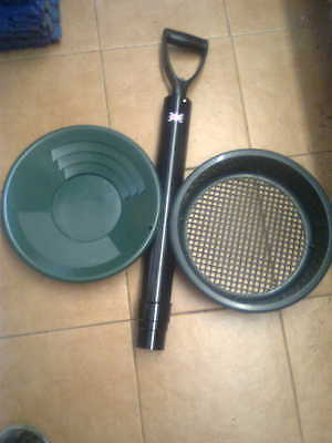 Gold Panning Hand Dredge Starter Kit With Sluice