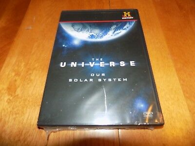THE UNIVERSE Solar System Planets Planet Sun Space History Channel DVD SET NEW