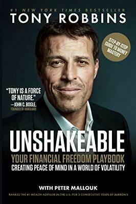 NEW - Unshakeable: Your Financial Freedom Playbook by Robbins, Tony