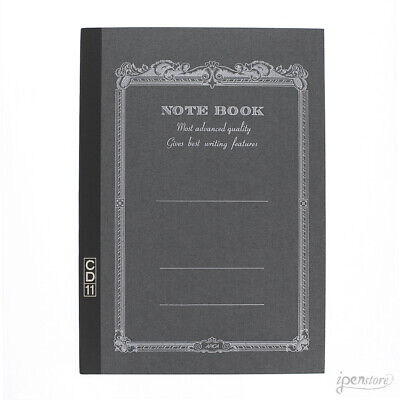 """Apica CD11BK Notebook 8.25"""" x 5.75"""" (A5 210 x 148mm), Lined, Black"""
