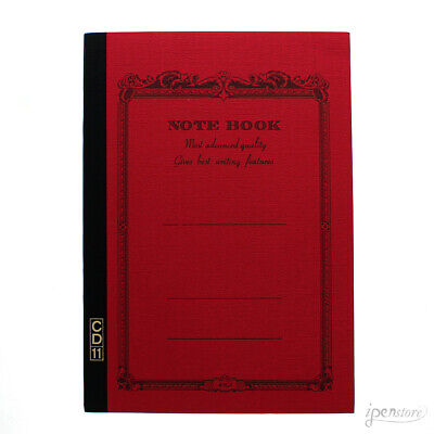 """Apica CD11RN Notebook 8.25"""" x 5.75"""" (A5 210 x 148mm), Lined, Red"""