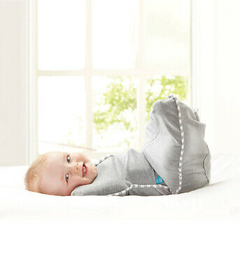 Love To Dream Swaddle UP, Gray, Small, 7-13 lbs, Mack Baby Better Sleep