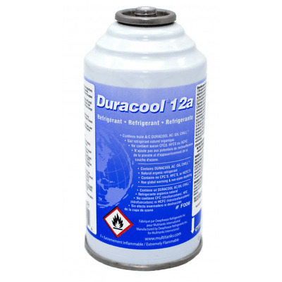 Canette Duracool 12A, Frostycool, remplace le R12, R134a et HFO 1234yf