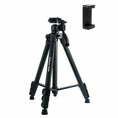 Camera Tripod Sobrovo NT668 60 Inch Portable Travel Aluminium Lightweight +Case