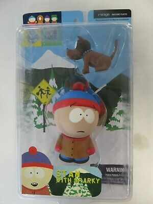 Stan with Sparky South Park Figure Series 1 Mirage 2003