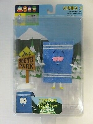Towelie with Sign South Park Figure Series 2 Mirage 2004