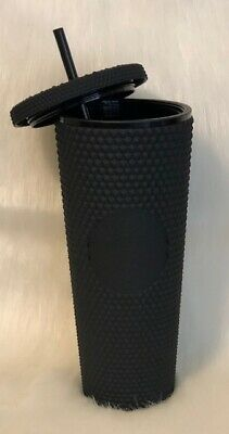 Starbucks Matte Black Studded Cold Cup Tumbler Venti 24 oz Limited Ed Sold Out
