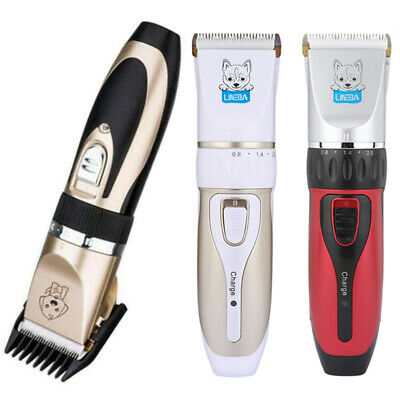 Professional Pet Dog Cat Clippers Hair Grooming Trimmer Shaver Rechargeable