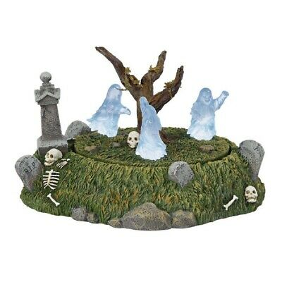 Department 56 Halloween Village Graveyard Ghost Dance Animated Figurine 6001737