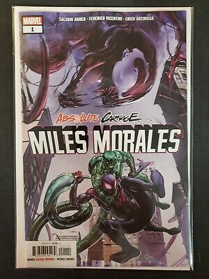 Absolute Carnage Miles Morales #1 Marvel VF/NM Comics Book