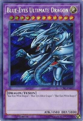 Blue-Eyes Ultimate Dragon - LCKC-EN057 - Secret Rare 1st Edition NM 3Q6