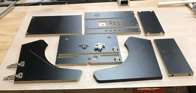 """Extra Wide WeeCade Cabinet Kit -  Black, Easy Assembly, for 22"""" Monitor"""