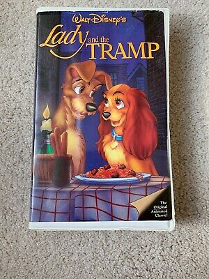 Lady and the Tramp Black Diamond Edition (VHS, 1998)