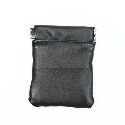 Solid Pu Leather Coin Purse Women Men Small Mini Short Card Holders Wallet Bags