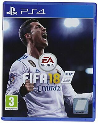 Electronic Arts FIFA 18 (PS4) - Game  K9VG The Cheap Fast Free Post