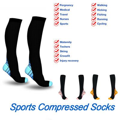 1 pair Men Women Sports Compressed Stripe Creative Sock Novelty Funny Socks Sox