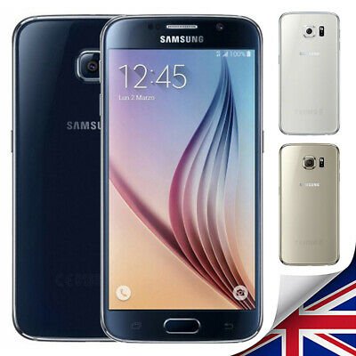 Unlocked Samsung Galaxy S6 G920F New&Sealed LTE 4G Mobile 32GB Smart Phone Hot