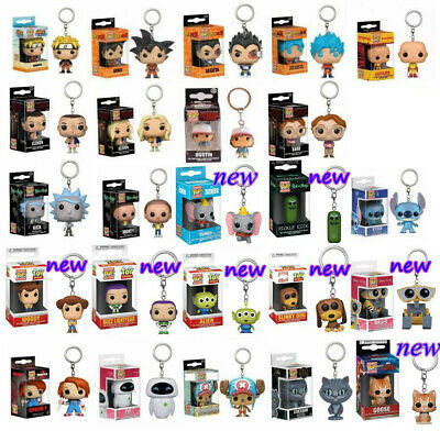 Keychain Funko Pocket Pop! Groot, Goku, Dead Pool Vinyl Spider Iron Man Venom