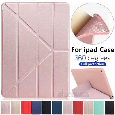 """For iPad Pro 11"""" Inch 2018 Luxury Leather Smart Cover Trifold Stand Case Shell"""