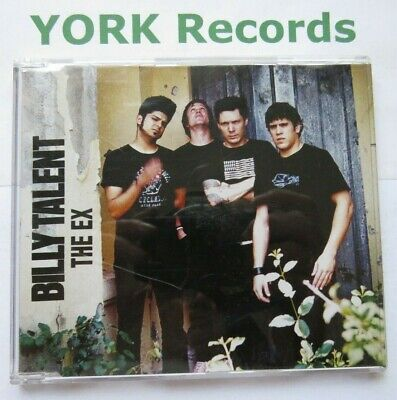 BILLY TALENT - The Ex **PROMO** - Excellent Con CD Single Atlantic SAM00930