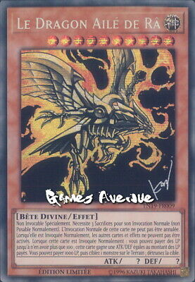 Yu-Gi-Oh ! Le Dragon Ailé de Ra TN19-FR009 (TN19-EN009) VF/SECRET