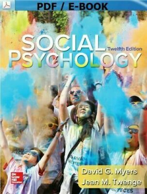 Social Psychology 12th Edition by David Myers INSTANT FASTESTDELIVERY[_EB-OOK]