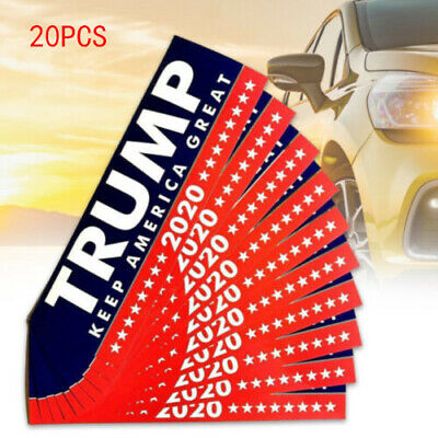 20x Donald Trump President 2020 KEEP AMERICA GREAT Bumper Sticker Car Stickers D