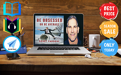 Be Obsessed or Be Average by Grant Cardone English Bestseller [Audiobook]