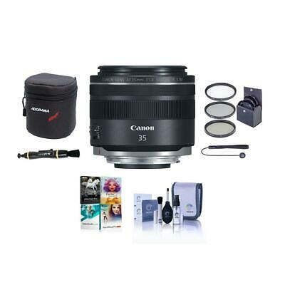 Canon RF 35mm f/1.8 Macro IS STM Lens U.S.A. Warranty With Free PC Accessory Kit