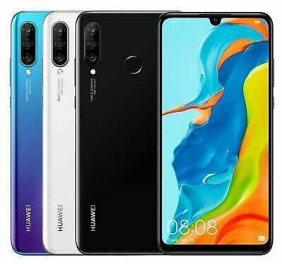 "HUAWEI P30 Lite 128GB 6.1"" 48MP Unlocked Android Smartphone - UK Version"