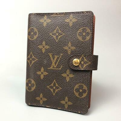 Louis Vuitton Monogram Pattern Agenda PM Notebook Cover Case D925