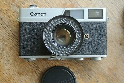 Canon Canonet Rangefinder Camera 45mm 1:1.9  SE lens NICE Working new seals