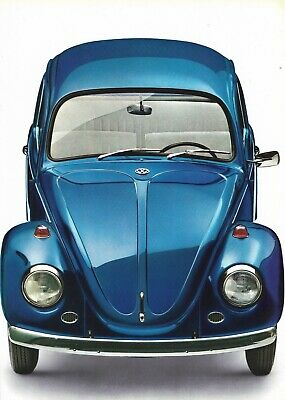 VOLKSWAGEN Beetle 1200, 1300, 1500, Cabriolet - 1968 - French sales catalogue