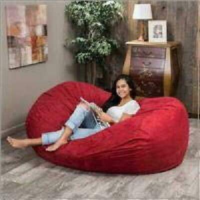 Swell Love Sac Adult Kids Bean Bag Chair Fuf Huge 6Ft Media Andrewgaddart Wooden Chair Designs For Living Room Andrewgaddartcom