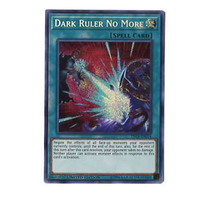 Dark Ruler No More TN19-EN014 Prismatic Secret Rare Limited