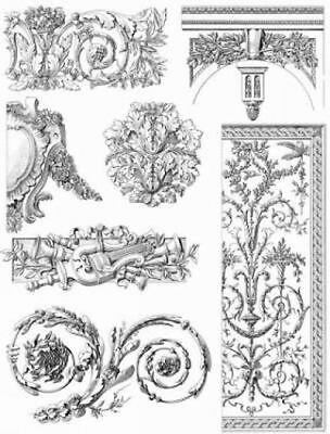 French Decorative Designs of the 18th Century CD-