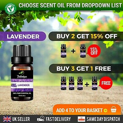 Essential Oils Aromatherapy 100% Pure Natural Organic Therapeutic Scents