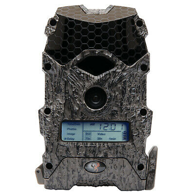 Wildgame Innovations Mirage 16 Lightsout 16MP Video Hunting Game Camera, Camo