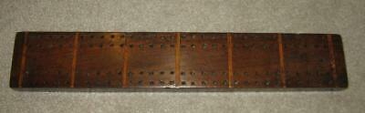 Georgian Inlaid Mahogany Cribbage Games Board