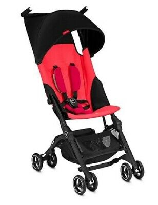 Goodbaby GB Pockit Plus Compact Stroller in Cherry Red NEW! Open Box!!
