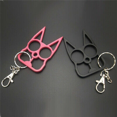 Cute Cat Key Chain Personal Protection Self-defense for Girls Key Ring Kitty