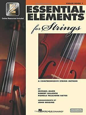 Essential Elements for Strings Book 1 EEi Violin by Michael Allen Paperback