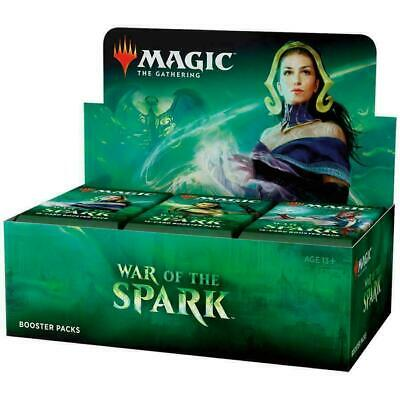 Magic The Gathering Mtg War Of The Spark English Factory Sealed Booster Box