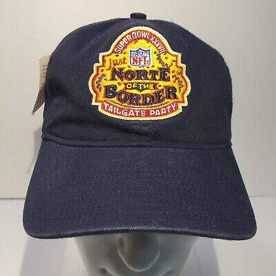Super Bowl XXXVII NFL Norte Of The Border Tailgate Party Hat