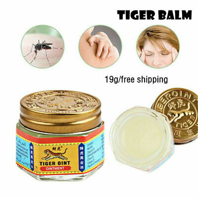 19g Tiger Balm Red Thai Herb Ointment Aches Pains Relief Massage Rub JT