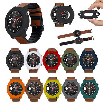 For Huami Watch AMAZFIT GTR (47mm) Soft Explosion-proof Full Silicone Case Cover