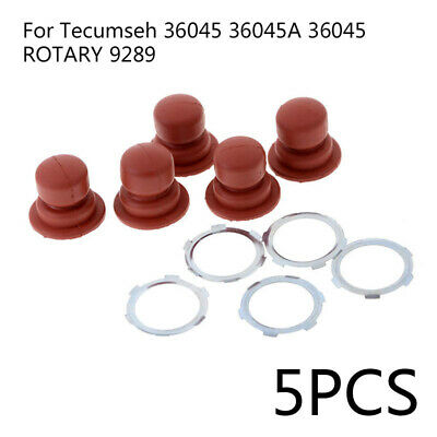 5Pcs Primer Bulb w/ Washers Kits for Tecumseh 36045 36045A ROTARY 9289 Engine