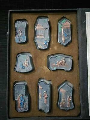 a set of ancient Chinese folk (ink block)     xm70  012